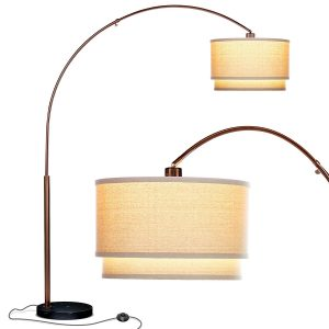 Brightech Mason LED Arc Floor Lamp