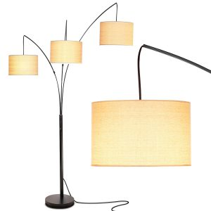 Brightech Trilage Arc Floor Lamp