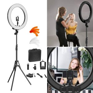 """Ivisii 18"""" Dimmable Ring Light Kit"""